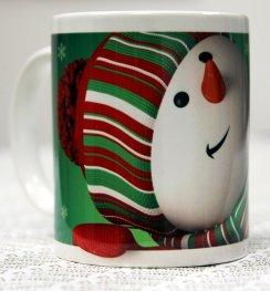 """Коледна чаша """"Снежен човек"""""""