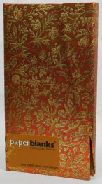 Бележник Paperblanks Flaming Gold Slim, Lined / 7112
