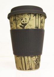 Еко чаша от бамбук Панди