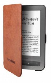 """Pocketbook Shell Cover - калъф за 6"""" за ел. книга /четец/ кафяв"""