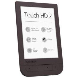 """*Pocketbook Touch HD 2 6"""" PB631-2 кафява електронна книга четец"""
