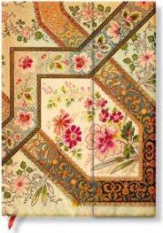 Бележник Paperblanks Filigree Floral Ivory Midi  Wrap, Lined / 5507