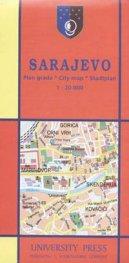 Sarajevo. Plan grada