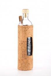 **Бутилка FLASKA Cork 0.500L: Естествен корк с коркова тапа