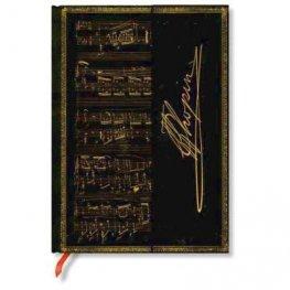 Бележник Paperblanks Embellished Manuscripts Mini Wrap, Lined/ 0210