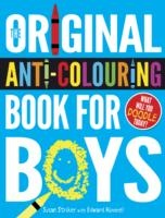 Original Anti- Colouring Book For Boys