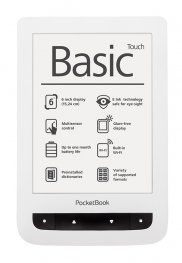 ***PocketBook Basic Touch PB624-D white