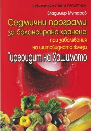 Седмични програми за балансирано хранене при заболявания на щитовидната жлеза. Тиреоидит на Хашимото
