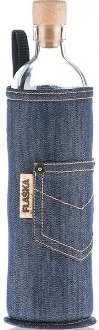 Бутилка Flaska NEO DESIGN- 0,50l Син-jeans