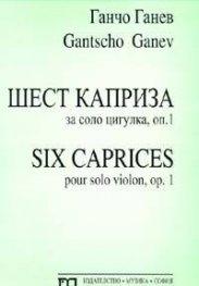 Шест каприза за соло цигулкта, оп.1