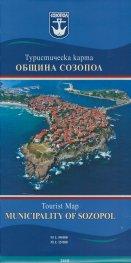 Туристическа карта Община Созопол/бг. англ.