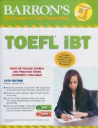 Barron's TOEFL IBT With CD/ 14th Edition