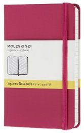 Бележник Moleskine Notebook Square Magenta Pocket [Hard Cover] [6408]