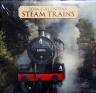 Calendar 2014: Steam Trains