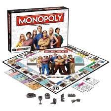 Теория за Големия взрив MONOPOLY - настолна игра