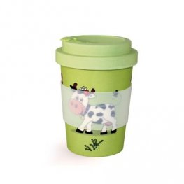 Бамбукова чаша Фолиум 350мл. Детска