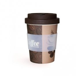 Бамбукова чаша Фолиум 350мл. Кафе