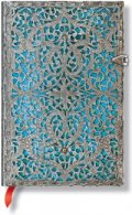 Бележник Paperblanks Silver Filigree Mini, Lined/ 5658
