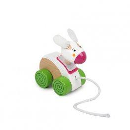 Toys Pino играчка за дърпане - зайче 8385-1