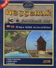 Nessebar. 3D Panoramic Map