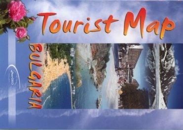 Bulgaria. Tourist Map
