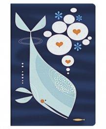 Бележник Paperblanks Whale and Friend,Midi,Lined/ 5565