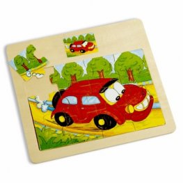 Toys Pino пъзел кола 12 ел. 4102-4