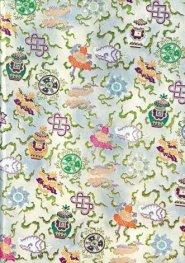 Бележник Paperblanks SHANKHA Sacred Tibetan Textiles, Midi, Lined/2838