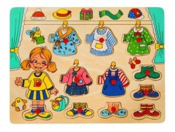 Toys Pino пъзел за обличане - момиче 4479A1